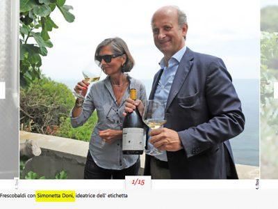 Frescobaldi e Doni & Associati per il vino di Gorgona – Articoli pubblicati su AND e ELLE nel 2015