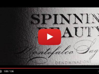 """""""Spinning Beauty"""" di Arnaldo Caprai – Packaging e Wine Design di Doni & Associati"""