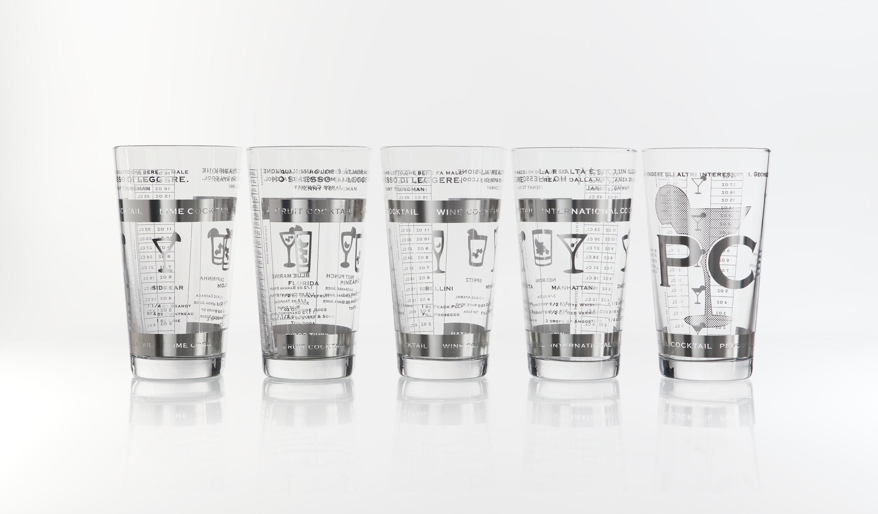 Packaging egizia linea perch no serigrafia su vetro for Serigrafia bicchieri